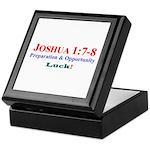 Joshua 1:7-8a Keepsake Box