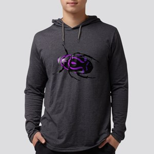 Purple Beetle Long Sleeve T-Shirt