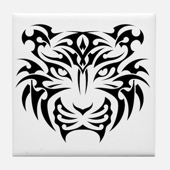 Cute Tiger Tile Coaster