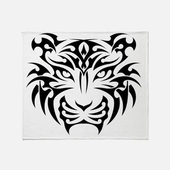 Cool Tiger Throw Blanket