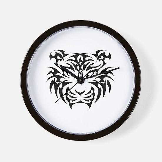 Unique Tiger Wall Clock
