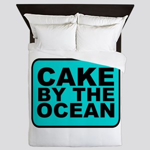 Cake By the Ocean Queen Duvet