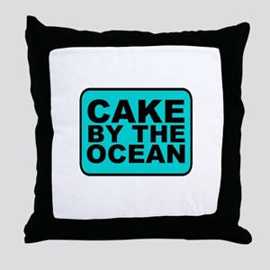 Cake By the Ocean Throw Pillow