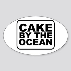 Cake by the Ocean Sticker