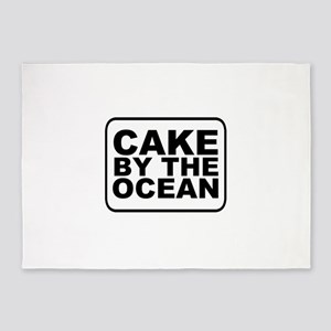 Cake by the Ocean 5'x7'Area Rug