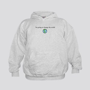 Change the world Kids Hoodie