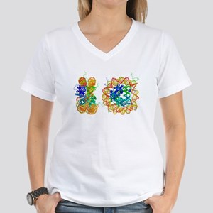 DNA nucleosome, molecular model T-Shirt