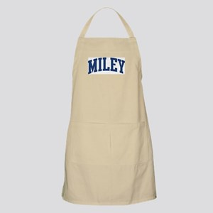 MILEY design (blue) BBQ Apron