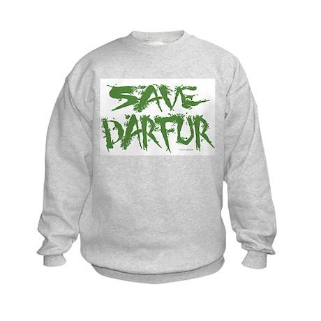 Save Darfur 3 Kids Sweatshirt