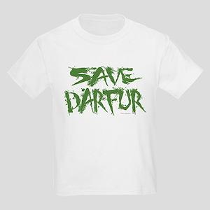 Save Darfur 3 Kids Light T-Shirt