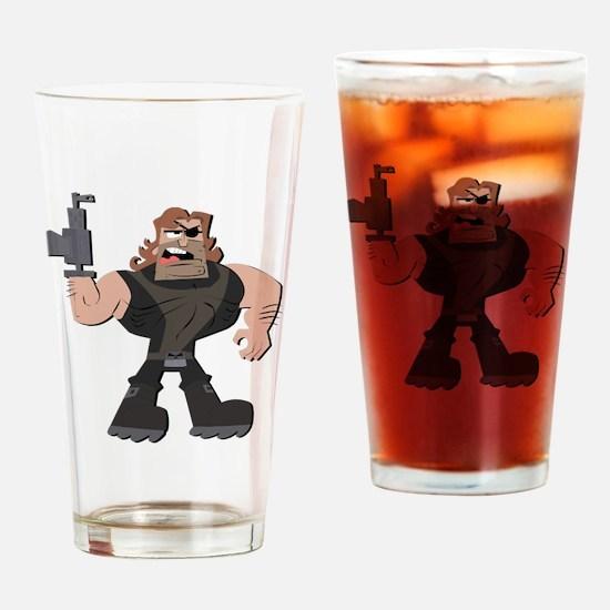 Cool Mandy Drinking Glass