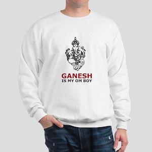 Ganesh Is My Om Boy Sweatshirt