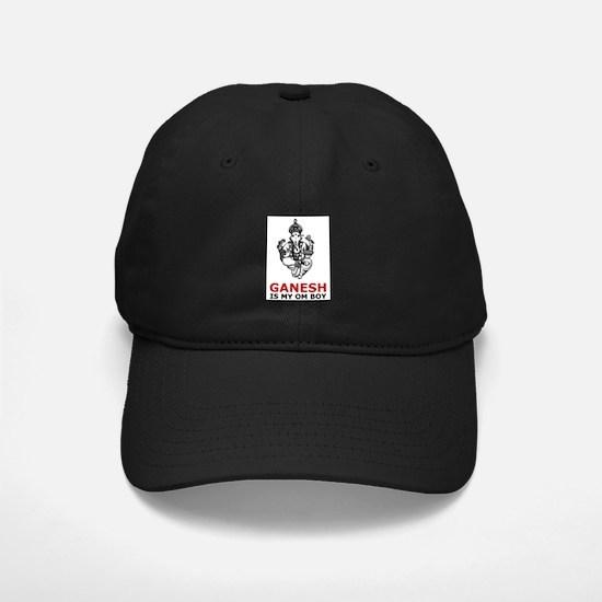 Ganesh Is My Om Boy Baseball Hat