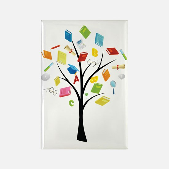 Cute Knowledge Rectangle Magnet