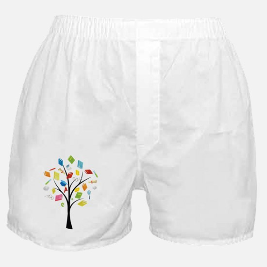 Funny Book Boxer Shorts