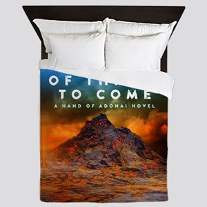 The Book of Things to Come Queen Duvet