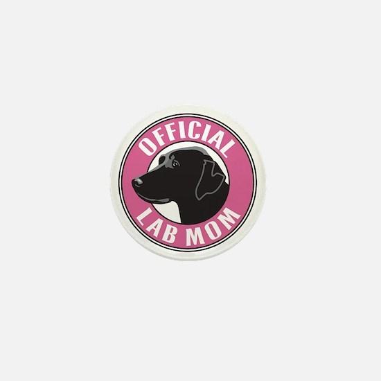 Official Lab Mom - Mini Button