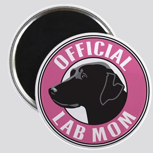 Official Lab Mom - Magnet