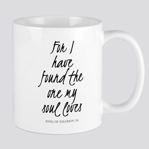 I have found the one my soul loves Mugs