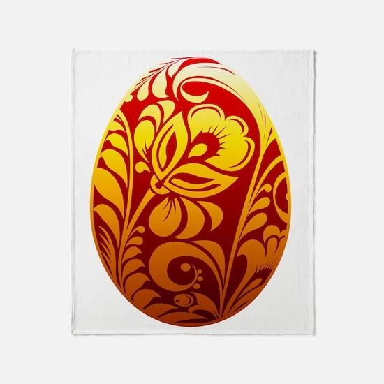 Cool Easter egg Throw Blanket