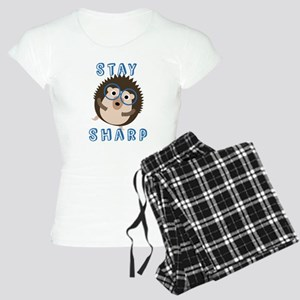 Stay Sharp Hipster Funny Hedgehog Pajamas