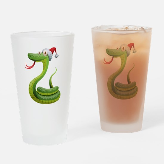 Funny Snake Drinking Glass