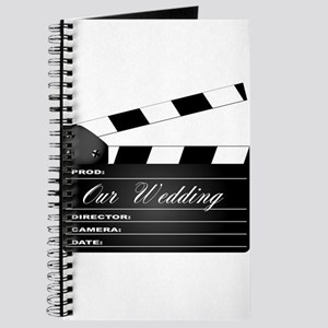 Our Wedding Clapperboard Journal