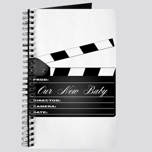Our New Baby Clapperboard Journal