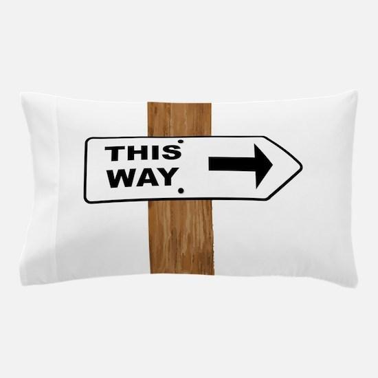 This Arrow Pillow Case