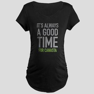 Canasta Maternity T-Shirt