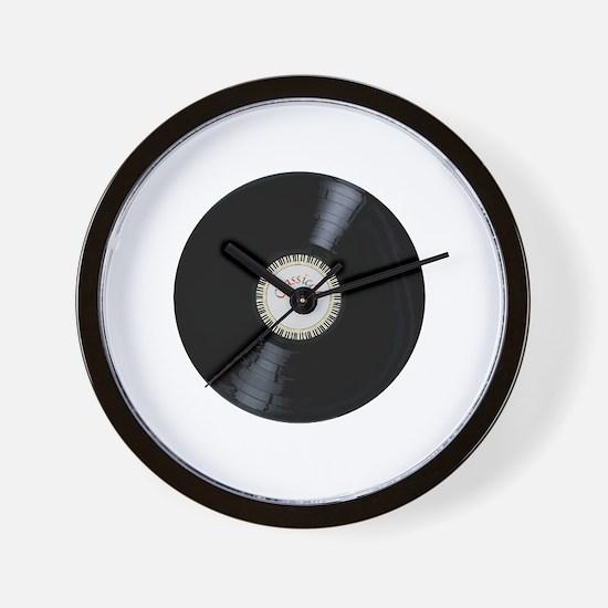Unique Record Wall Clock