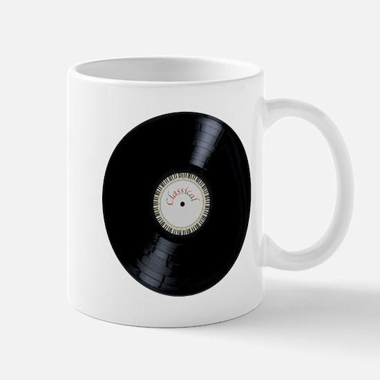 Classical Record Mugs