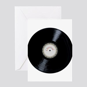 Classical Record Greeting Cards