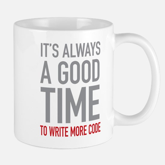 Write More Code Mugs