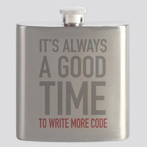 Write More Code Flask