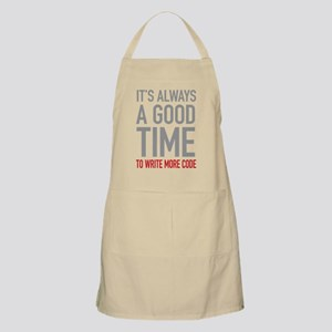 Write More Code Apron
