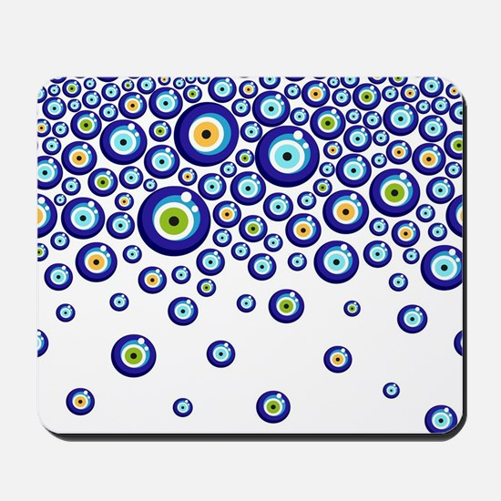 Evil eye Mousepad