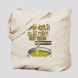 Ramen noodles college students best frien Tote Bag