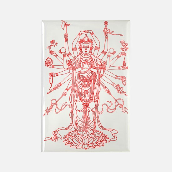 Cute God art Rectangle Magnet