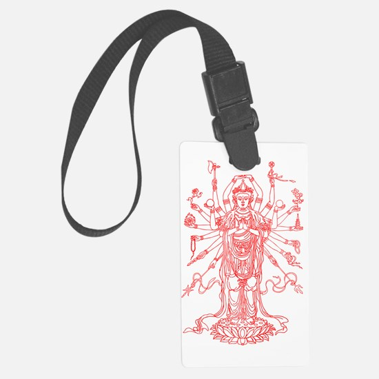 Unique God Luggage Tag