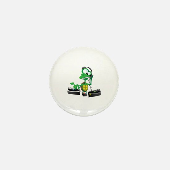 Funny Jockey Mini Button