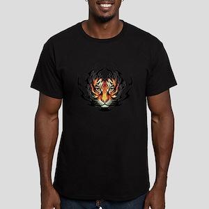 Tribal Flame Tiger T-Shirt