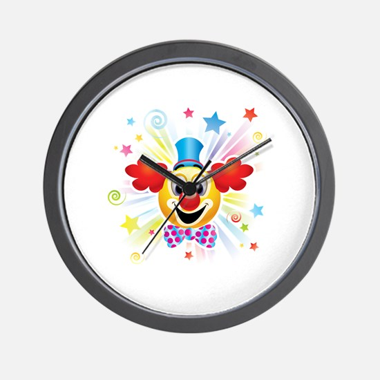 Funny Abstract Wall Clock