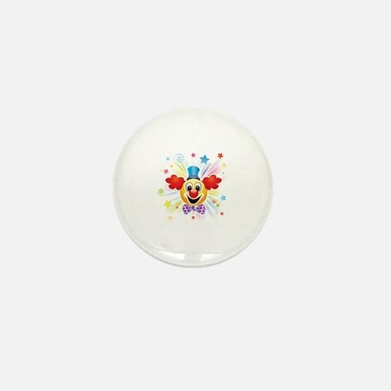 Cool Clown Mini Button