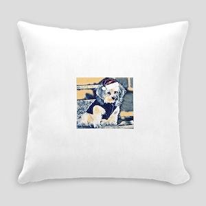 Santa Copper Everyday Pillow