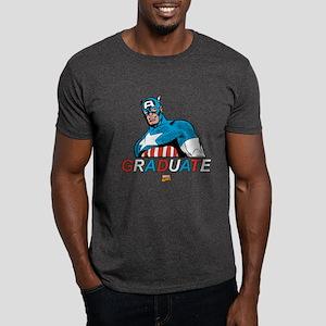 Captain America Graduate Dark T-Shirt