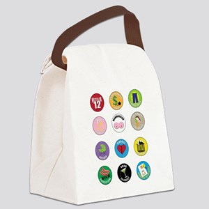 Adult Merit Badge: Success for Wo Canvas Lunch Bag