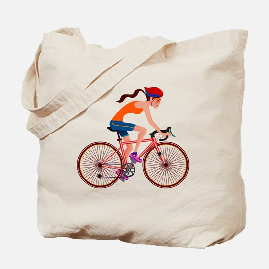 Cute Bicycle Tote Bag