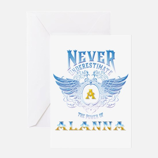 Never underestimate the power of al Greeting Cards
