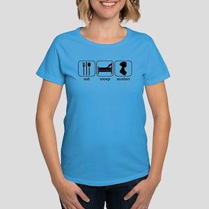 Eat Sleep Austen Women's Dark T-Shirt